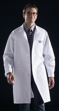 Medline  - Knee Length Lab Coat