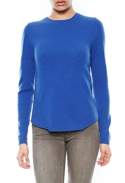 Songbird  - Cashmere Raglan Sleeve Crew Sweater