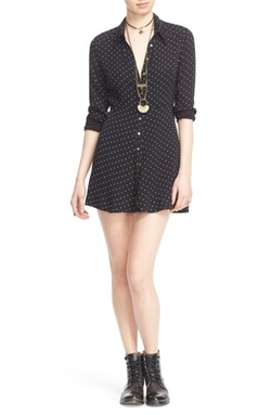 Free People  - This Town Polka Dot Shirtdress