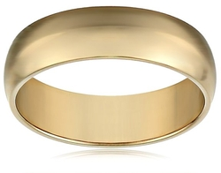 Amazon Collection - Comfort Fit Plain Wedding Band Ring