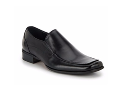 Steve Madden  - Leather Square-Toe Loafers
