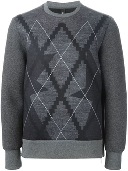 Neil Barrett - Argyle Sweater