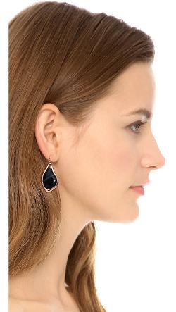 Alexis Bittar  - Infinity Banded Agate Earrings