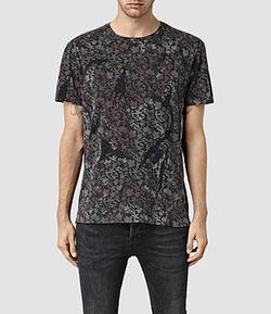 All Saints - Ivy Camo T Shirt