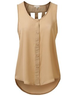 J.Tomson  - Womens Sleeveless Blouse