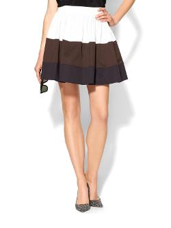 Kate Spade New York  - Color Block Coreen Skirt