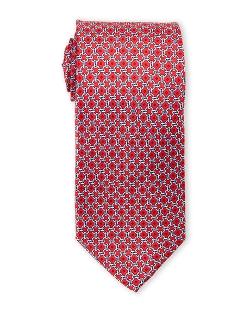 Pierre Cardin - Chain Link Print Silk Tie