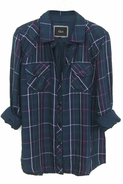Rails - Kendra Tencel Plaid Shirt