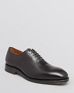Salvatore Ferragamo  - Tramezza Carmelo Plain Toe Oxford Shoe