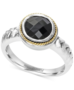 Effy - Onyx Braid Ring