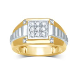 JC Penney - Diamond-Accent Gold Ring