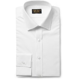 Emma Willis - White Slim-Fit Cotton Shirt