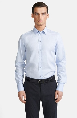 Dolce & Gabbana - Extra Trim Fit Stripe Dress Shirt