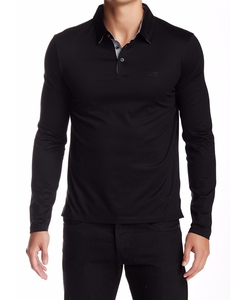 Hugo Boss - Pressler Long Sleeve Polo Shirt