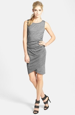 Leith - Tildon Ruched Body-Con Tank Dress