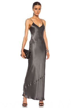 Nili Lotan  - Maxi Cami Silk Dress