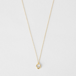 Dinny Hall - Small Toro Loop Pendant Necklace