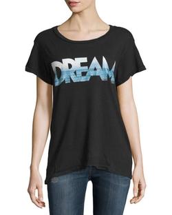 Current/Elliott   - Cotton Vintage-Graphic Jersey T-Shirt