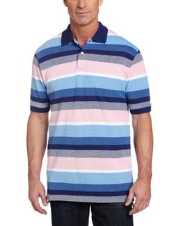 IZOD -  Wide-Stripe Polo Shirt