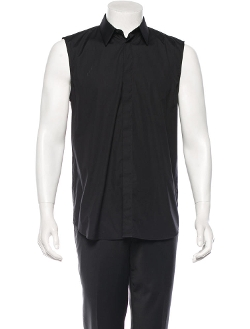 Givenchy - Sleeveless Button-Up Shirt