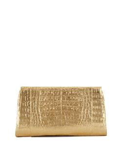 Nancy Gonzalez - Crocodile Slicer Clutch Bag
