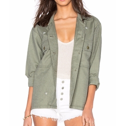 The Great - Army Shirt Jacket