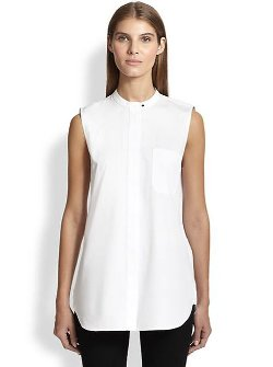Proenza Schouler  - Cotton Button-Down Shirt