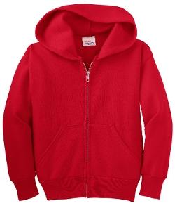 Hanes Youth  - Full Zip Hooded Sweatshirt Hoodie jacket