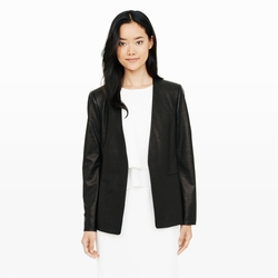 Club Monaco - Raquela Leather Blazer