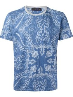 Etro - Baroque Print T-Shirt