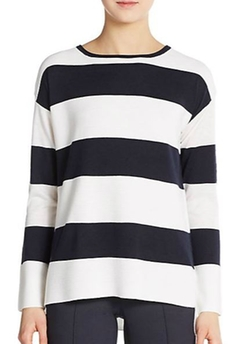 Vince  - Ottoman Striped Sweater