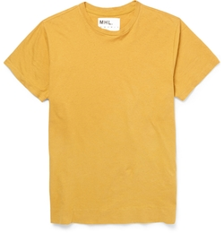 Margaret Howell - Mhl Cotton & Linen-Blend T-Shirt