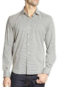 Culturatta - Printed Cotton Sportshirt