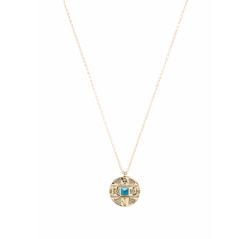 House of Harlow 1960 - Maricopa Coin Pendant Necklace