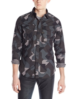 G-Star Raw - Rovic Long-Sleeve Button-Down Shirt