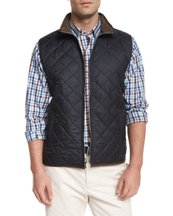 Peter Millar	  - Potomac Lightweight Quilted Vest