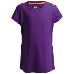 Watson's - V-Neck T-Shirt - Compression Stretch Nylon, Short Sleeve