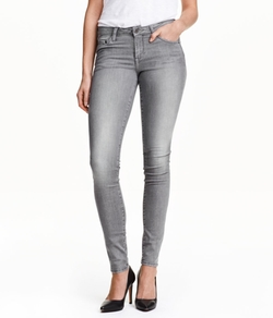 H&M - Super Skinny Low Jeans
