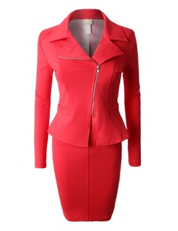 Le3no - Blazer And Skirt Suit