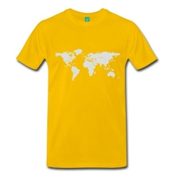 Spread Shirt - International Alcohol Map T-Shirt