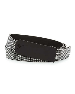 Giuseppe Zanotti - Studded Leather Belt