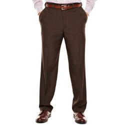 Haggar - Flat-Front Dress Pants-Big & Tall