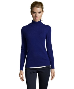 Hayden - Midnight Cashmere Turtleneck Sweater