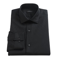 Marc Anthony  - Solid Spread-Collar Dress Shirt
