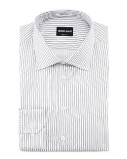 Giorgio Armani  - Track-Stripe Dress Shirt