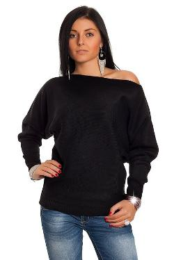 Glamour Empire  - Batwing Long Sleeve Jumper