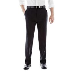 JCPENNEY - Stafford Travel Flat-Front Trousers