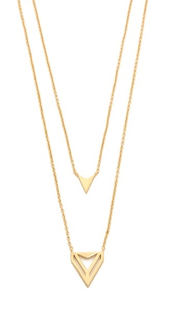 Gorjana - Harper Triangle Necklace