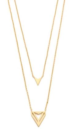 Gorjana - Harper Triangle Necklace