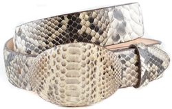 Los Altos Boots - Original Python Skin Belt